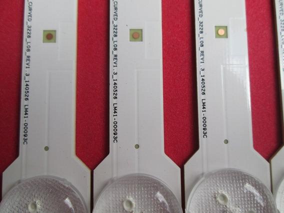 Kit Barras Led Samsung Un55hu7200g Lm41-00093b Lm41-00093c