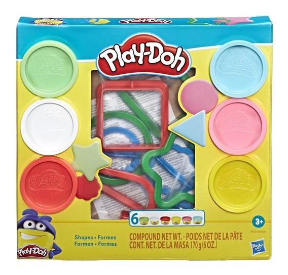 Kit Massinha De Modelar Play Doh Moldes E Formas Hasbro