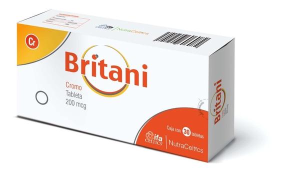 Britani 30 Tabletas + Consulta Gratis Con Nutriólogo