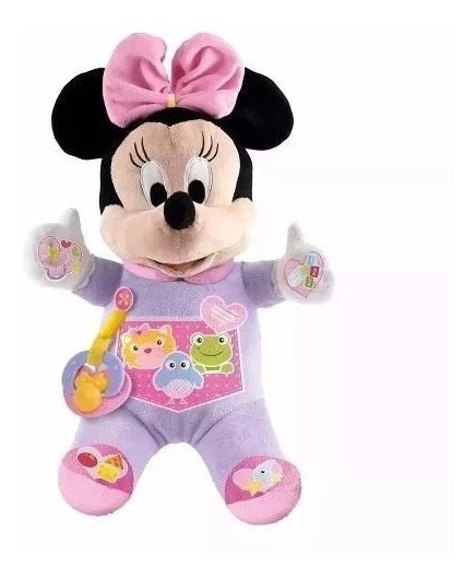 Primeira Pelúcia Boneca Minnie Disney- Dican
