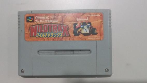 Jogo Super Nintendo Wild Trax Original - Frete Grátis