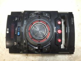 Carcaça Frontal Completa Som Lg Cm4420 Semi-nova
