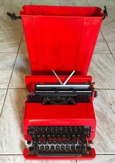 Maquina De Escribir Antigua Olivetti Valentine Retro Vintage