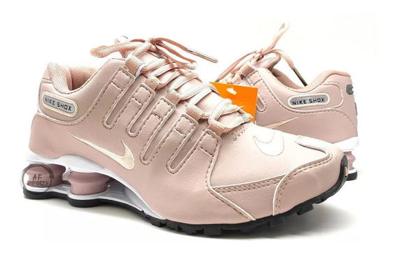 Tênis Nike Shhox Nz Masculino E Feminino 4 Molas +brinde