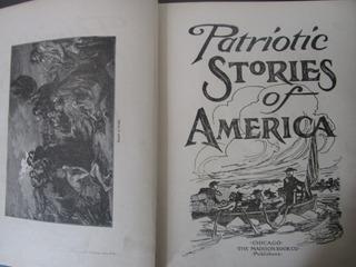 Año 1903 Historias Patriotas America Libro Muy Antiguo