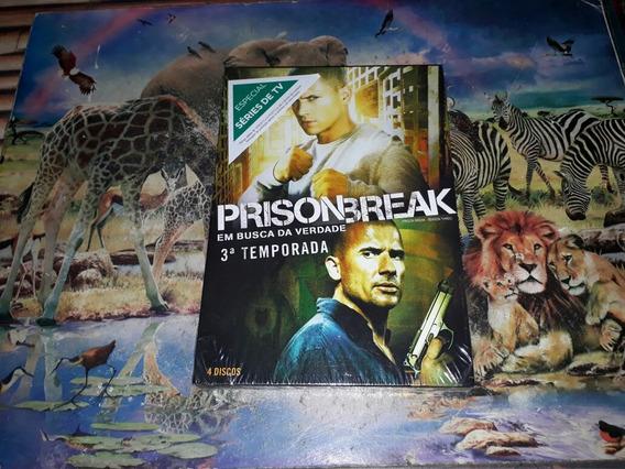 Box Dvd Prison Break 3ª Temporada Completa Original Lacrado