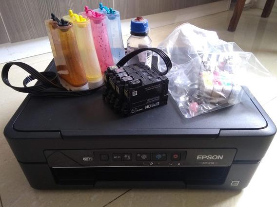 Impressora Epson Xp 214 Com Defeito + Reservatorio Bulk In