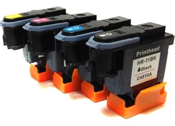 Kit Cabeçote Compatível Hp 11 C4810a C4811a C4812a C4813a