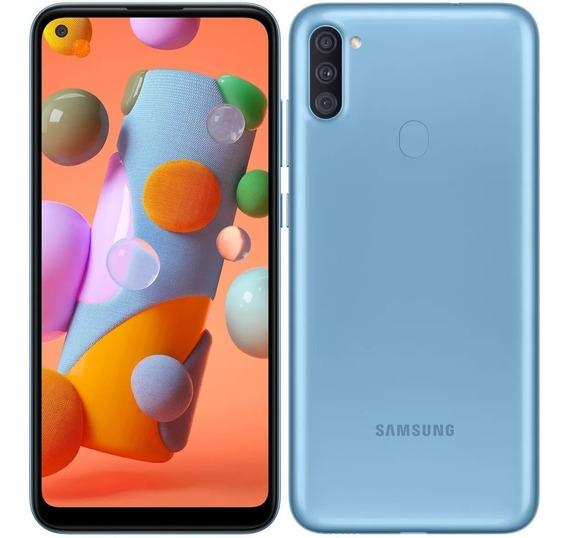 Celular Samsung Galaxy A11 Dual 6,4 64gb 3gb Ram Octa Azul