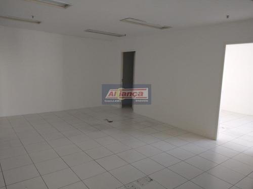 Sala Para Alugar, 91 M² Por R$ 2.100/mês - Centro - Guarulhos/sp - Ai11937