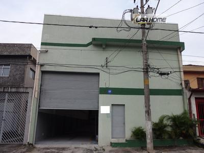 Galpão/pavilhão Para Alugar No Bairro Vila Santana Em São - Ga917-2