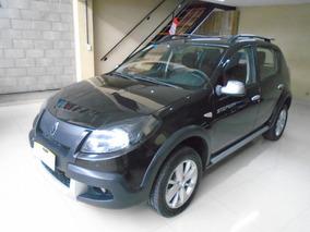 Renault Sandero Stepway 1.6 Privilege 105cv Color Negra 2012