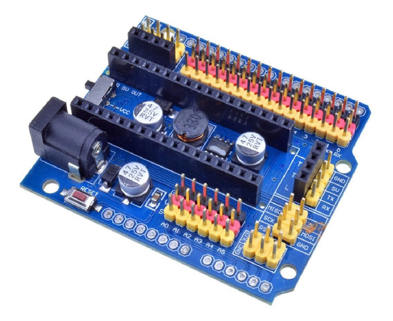 Modulo Shield Adaptador Para Expansão Placa Nano / Uno / Leo