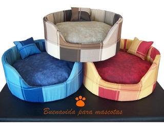 Moisés Cama Cuna Cucha Mascotas Perro Gato 50cm Cuadros