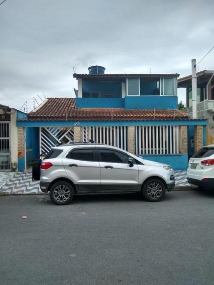 Casa Para Venda Em Praia Grande, Vila Caiçara, 2 Dormitórios, 1 Suíte, 1 Banheiro, 2 Vagas - Pg072it