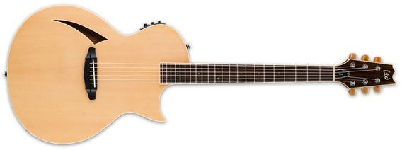 Guitarra Electroacustica Esp Ltd Cuerdas Acero Tl6 Rd Music