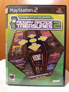 Midway Arcade Treasures 2 Ps2 Od.st