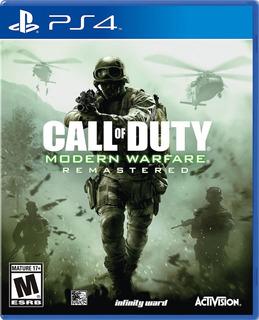 ..:: Call Of Duty Modern Warfare Remastered De Ps4 ::.. Gc