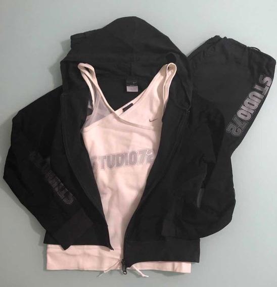 Conjunto Nike Para Mujer (campera/musculosa/pantalón)