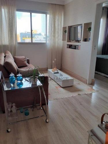 Lindo - Vende Ou Aluga Mobiliado! 1 Dormitório Em Campinas - Ap19308
