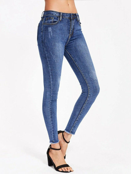 Padrisimos Skinny Jeans Marca Americana Encore Talla 7 Mercadolibre Com Mx