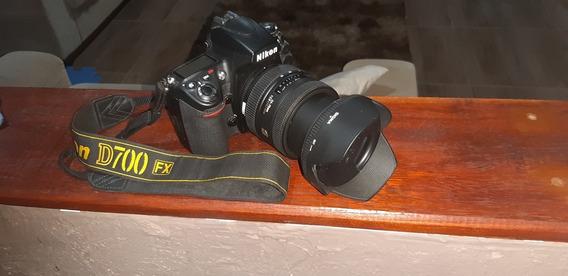 Câmera Profissional Nikon D700