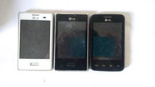 Lote 2 Celular LG E400f E 1 LG E435f Com Defeito