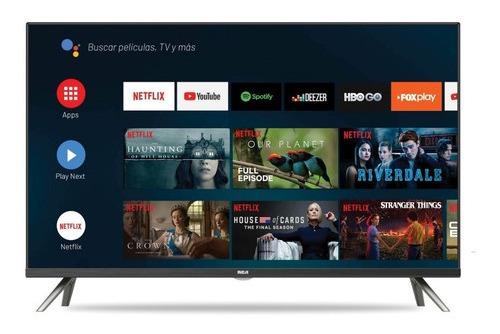 Imagen 1 de 7 de Smart Tv 32 Rca And32y Android Netflix Youtube Tv Led Hd Usb