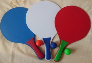 Ping Pong Playa Dos Raquetas, Dos Pelotas, Bolsa Transporte
