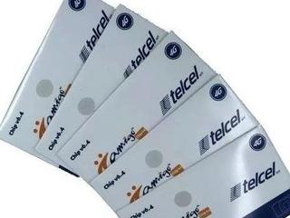 100 Chips Telcel Region 8