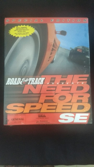 Jogo The Need For Speed Cd Rom Lacrado Novo Raro