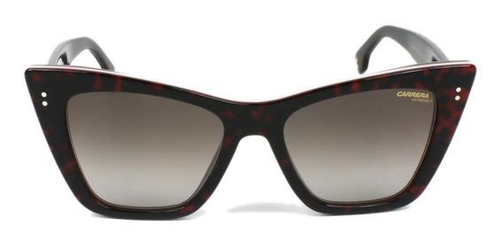 Lentes De Sol Carrera 1009s Fashion Cat Eye Mujer 52mm Suns