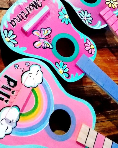 Guitarra De Juguete Nena /nene Artesanal