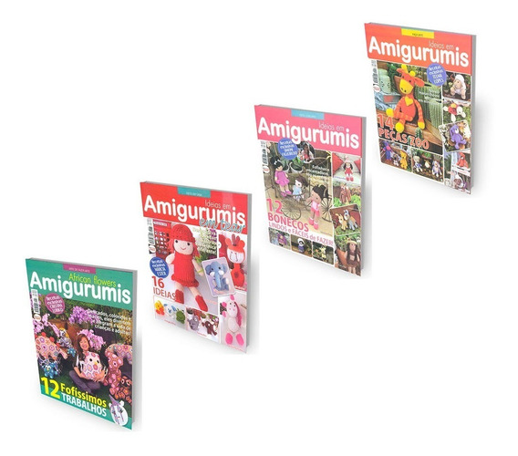 Revista Faça Arte Amigurumis Ideias Passo A Passo