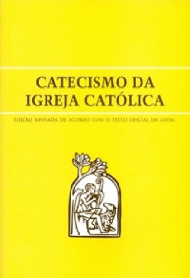 Livro Catecismo Da Igreja Católica Grande