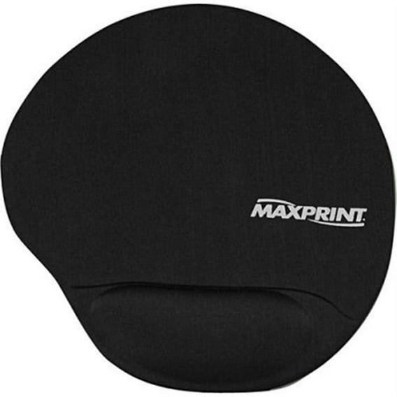 Base Para Mouse Com Apoio Em Gel Preto 604484 Maxprint