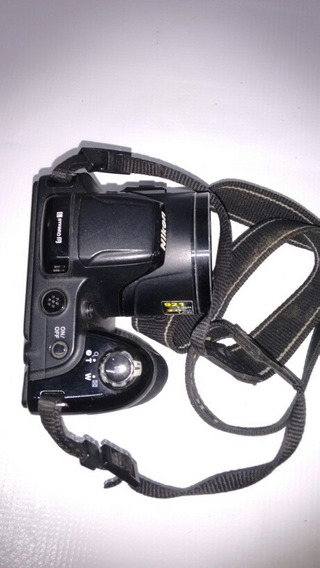Camera Nikon L810 Nao Liga, Tampa Bateria Em Perfeito Estado