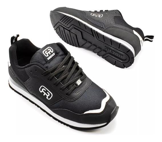 Tênis Hocks Skate Sneaker Nuv Preto Black Branco Original