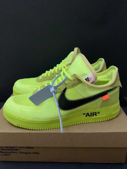 Nike X Off White Air Force 1 volt
