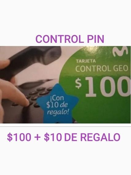 Tarjeta Telefónica Control Pin $100 - 24 Hs.