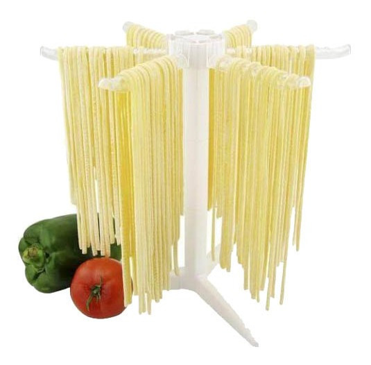 Secador De Massa Fresca 6 Hastes Talharim Espaguete Fetucine