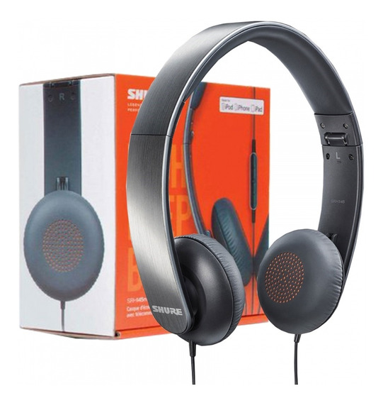Fone De Ouvido Shure Srh145 / Srh 145 Headphone Original +nf