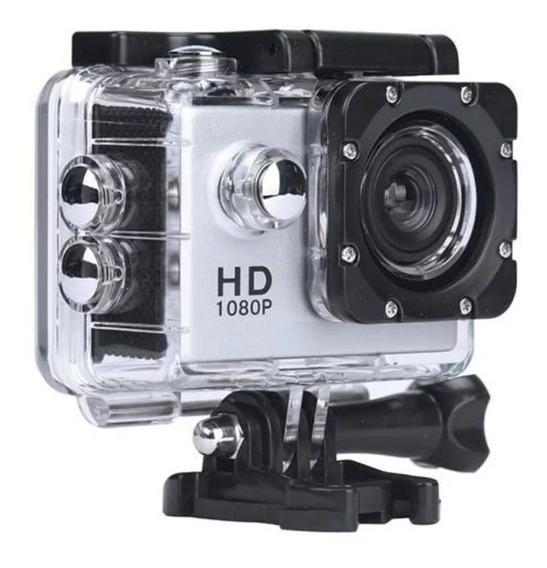 Filmadora Câmera Capacete Sports Mergulho Bike Moto 1080p Hd