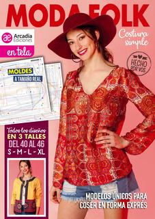 Moda Folk, Costura Simple - Arcadia Ediciones