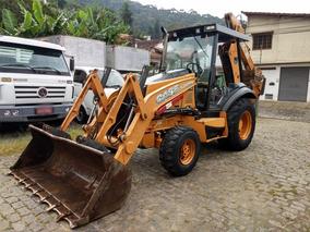 Retro Escavadeira Case 580 N 4x4 2012