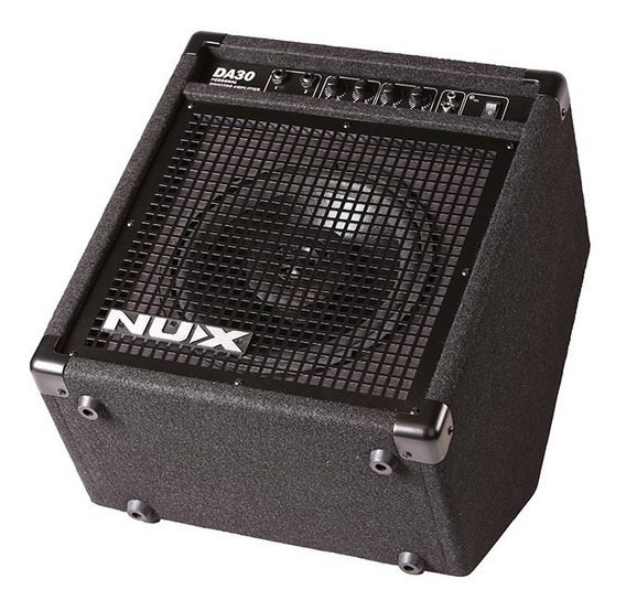 Amplificador Monitor Nux Da30 P/ Bateria Eletronica Nux