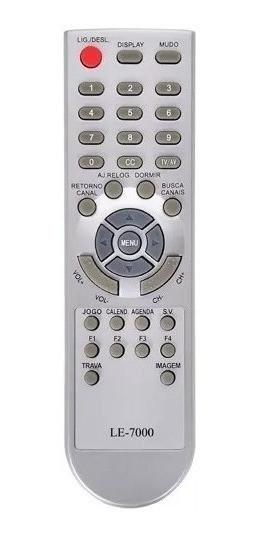 Controle Remoto Tv Century Mod 14 -1439 1440, 20 , 21 -2150f