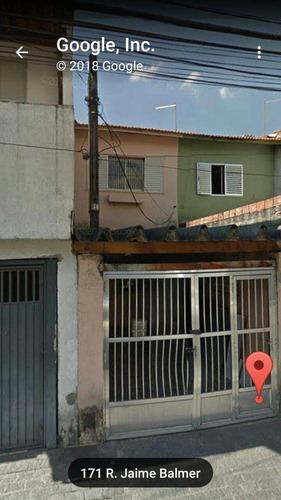 Imagem 1 de 12 de Sobrado Com 2 Dorms, Jardim Leme, São Paulo - R$ 400.000,00, 0m² - Codigo: 1177 - V1177
