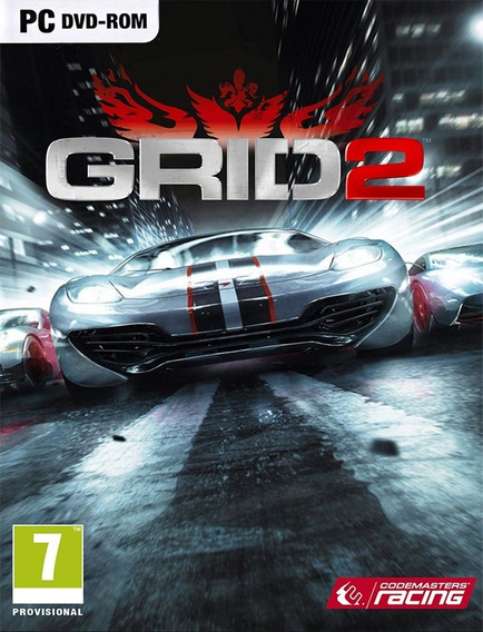 Grid 2 Pc - 100% Original (steam Key)