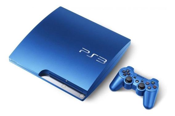 Sony PlayStation 3 Slim 320GB Standard splash blue
